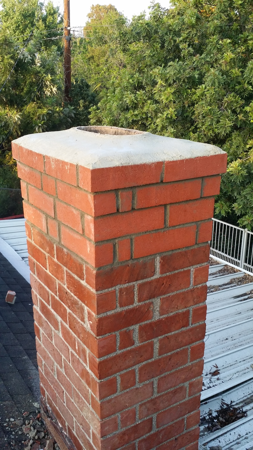 Chimney Repair Due To The La Habra Earthquakelucky Sully