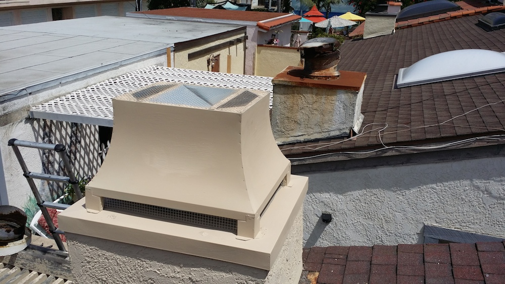 Custom Chimney Caps ~ Chimney cap archives lucky sully sweeplucky