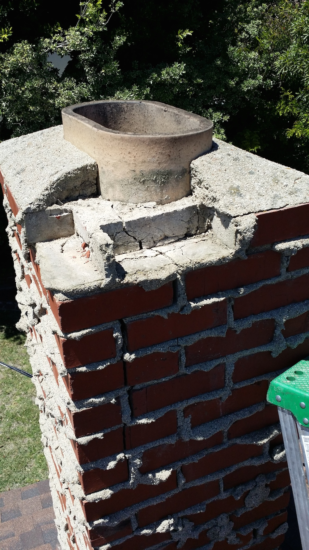 Repair Of Chimney Top In Orange Countylucky Sully Chimney