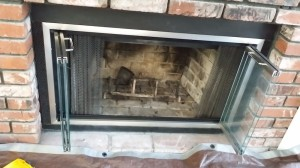 Custom Fireplace Glass Doors