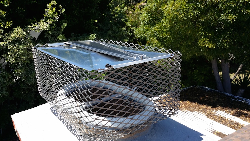 Stainless Steel Chimney Cap And Top Damper Repairlucky