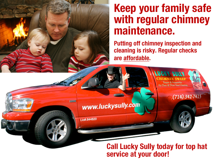 Lucky Sully Chimney Safety