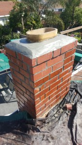 chimney after repair