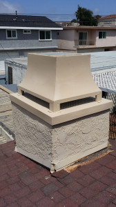 Repaired Rusted Chimney Cap