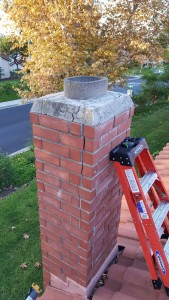 chimney-repair-during