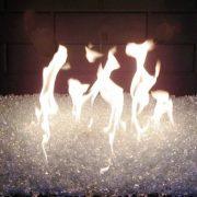 Fire on Ice fireglass